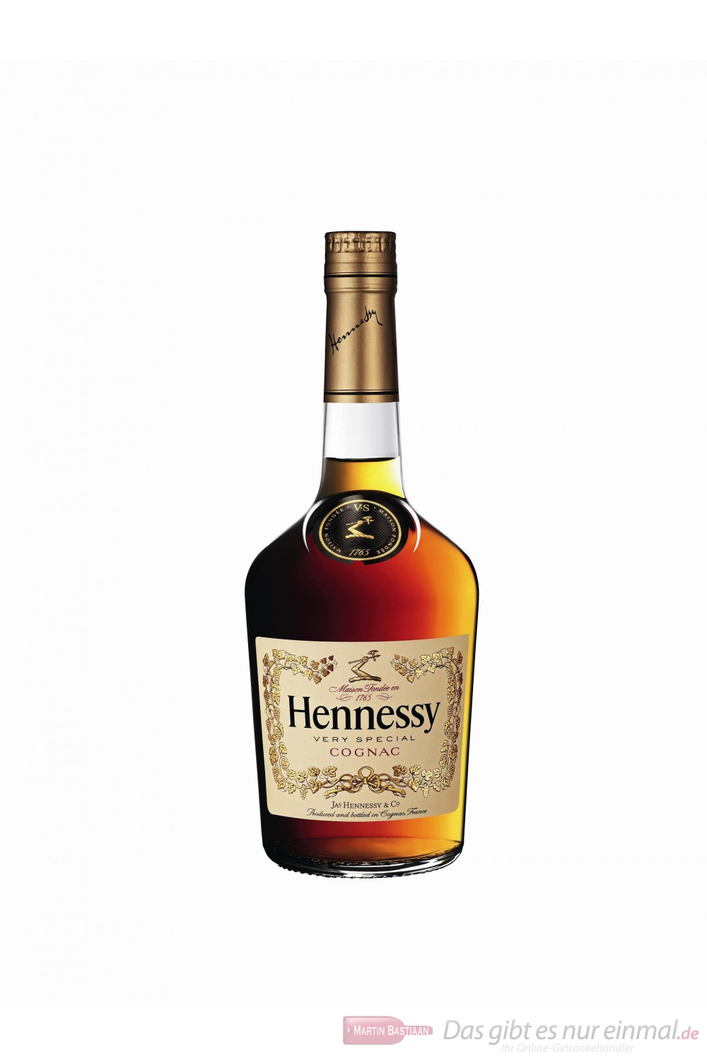 Hennessy Cognac VS 40% 0,7l Flasche