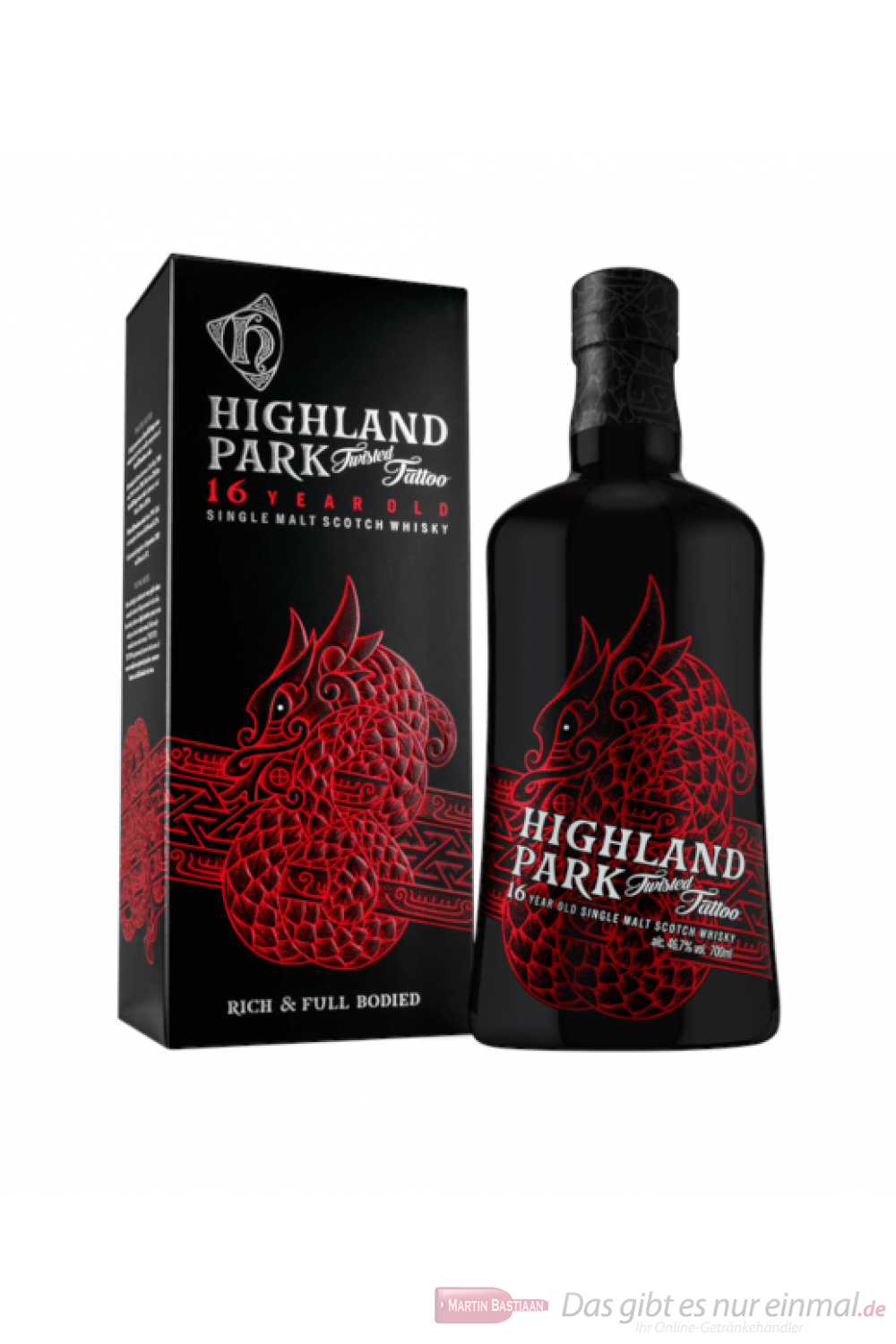 Highland Park Twisted Tattoo Single Malt Scotch Whisky 0,7l