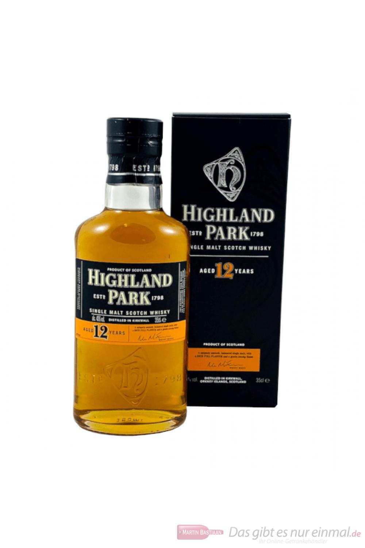 Highland Park 12 Years Single Malt Scotch Whisky 0,35l