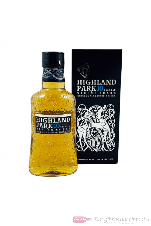 Highland Park 10 Years Viking Scars Single Malt Scotch Whisky 0,35l