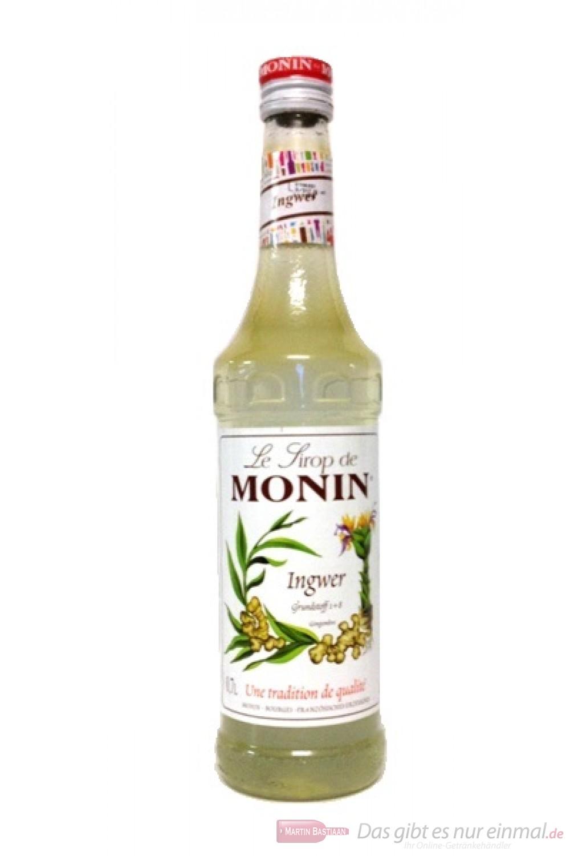 Le Sirop de Monin Ingwer