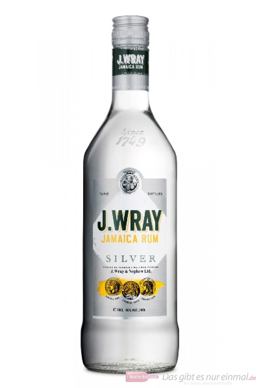 J.WRAY Silver Rum 1,0l