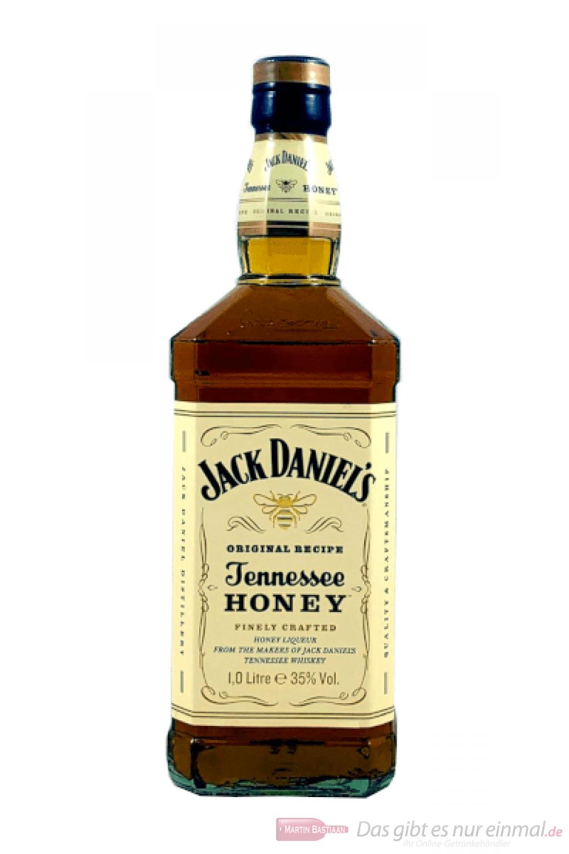 Jack Daniels Tennessee Honey Whisky Honig Likör 1,0l