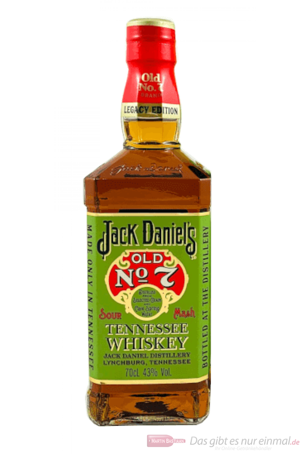Jack Daniel's Legacy 1905 Edition 1 Tennessee Whiskey 0,7l