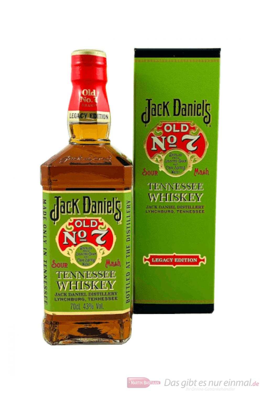 Jack Daniel's Legacy 1905 Tennessee Whiskey 0,7l