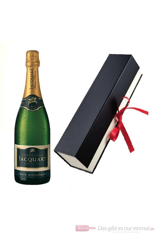 Jacquart Brut Mosaique Champagner in Geschenkfaltschachtel