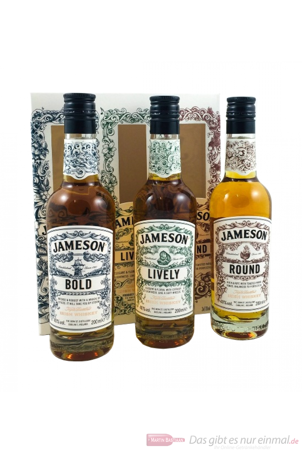 Jameson The Deconstructed Serie Irish Whiskey 3-0,2l