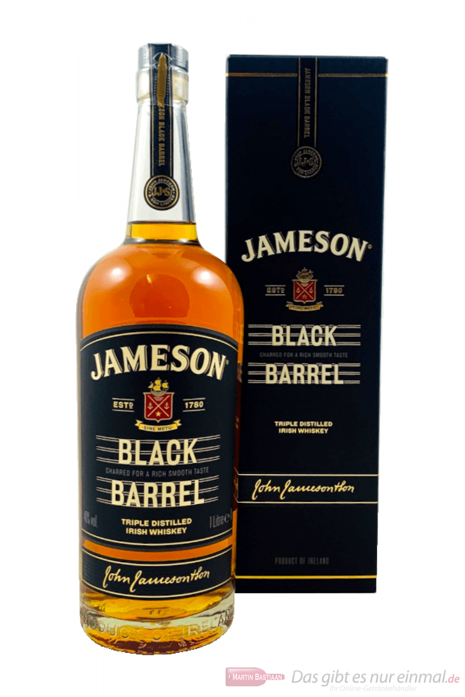 Jameson Black Barrel Irish Whiskey 0,7l