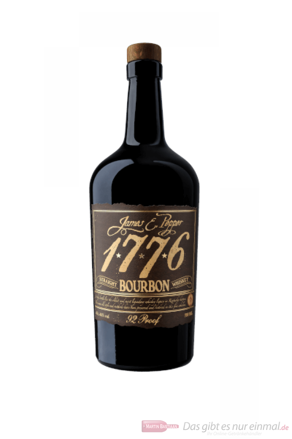 1776 Bourbon Whiskey 0,7l