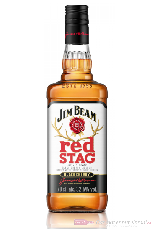 Red Stag Bourbon by Jim Beam Spirituose 0,7l