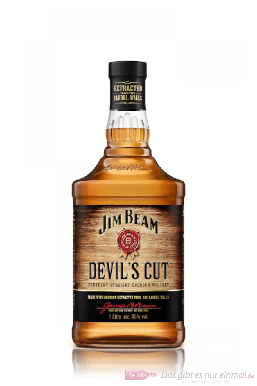 Jim Beam Devils Cut Kentucky Straight Bourbon Whiskey 1,0l
