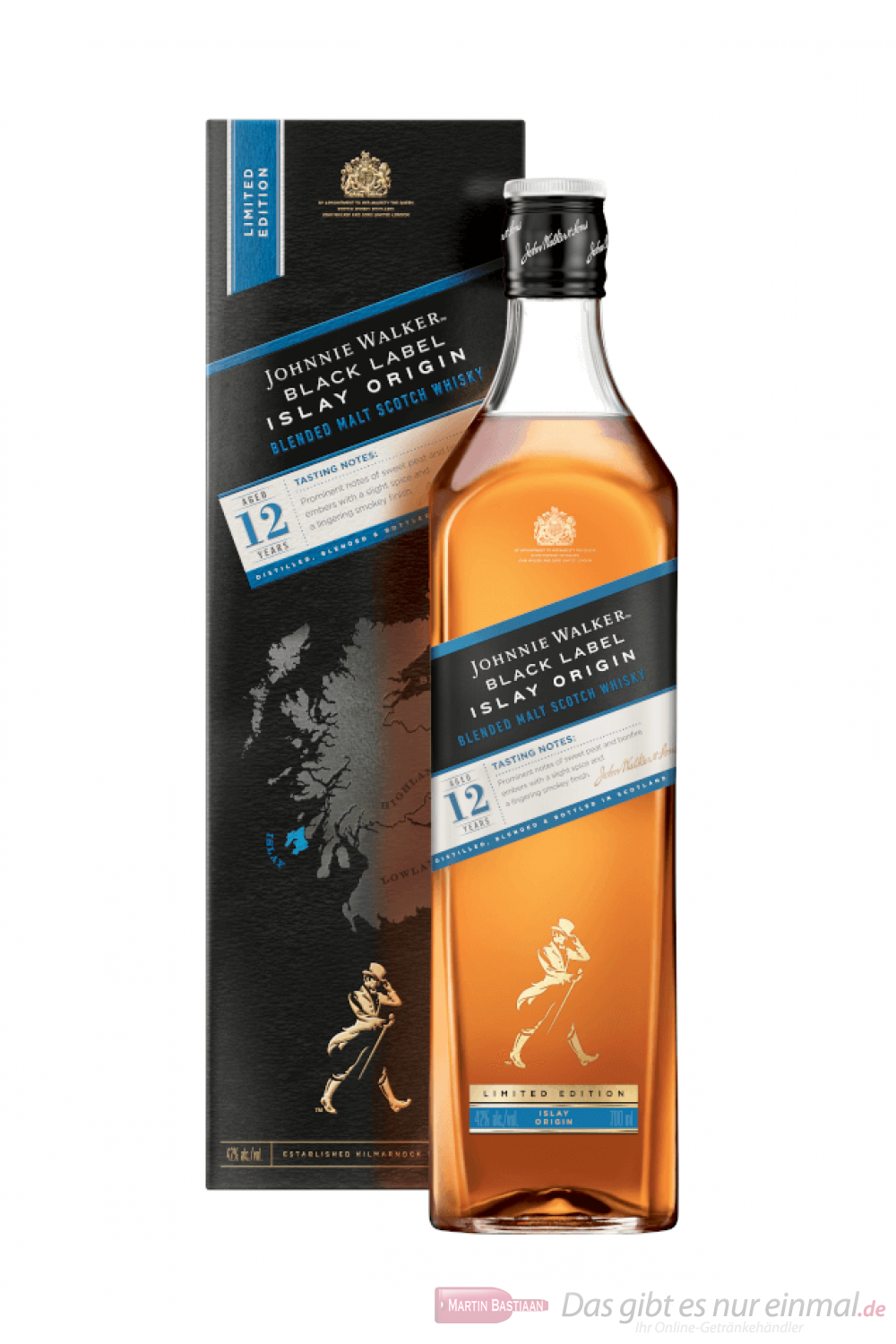 Johnnie Walker Black Islay Origin Blended Scotch Whisky 0,7l