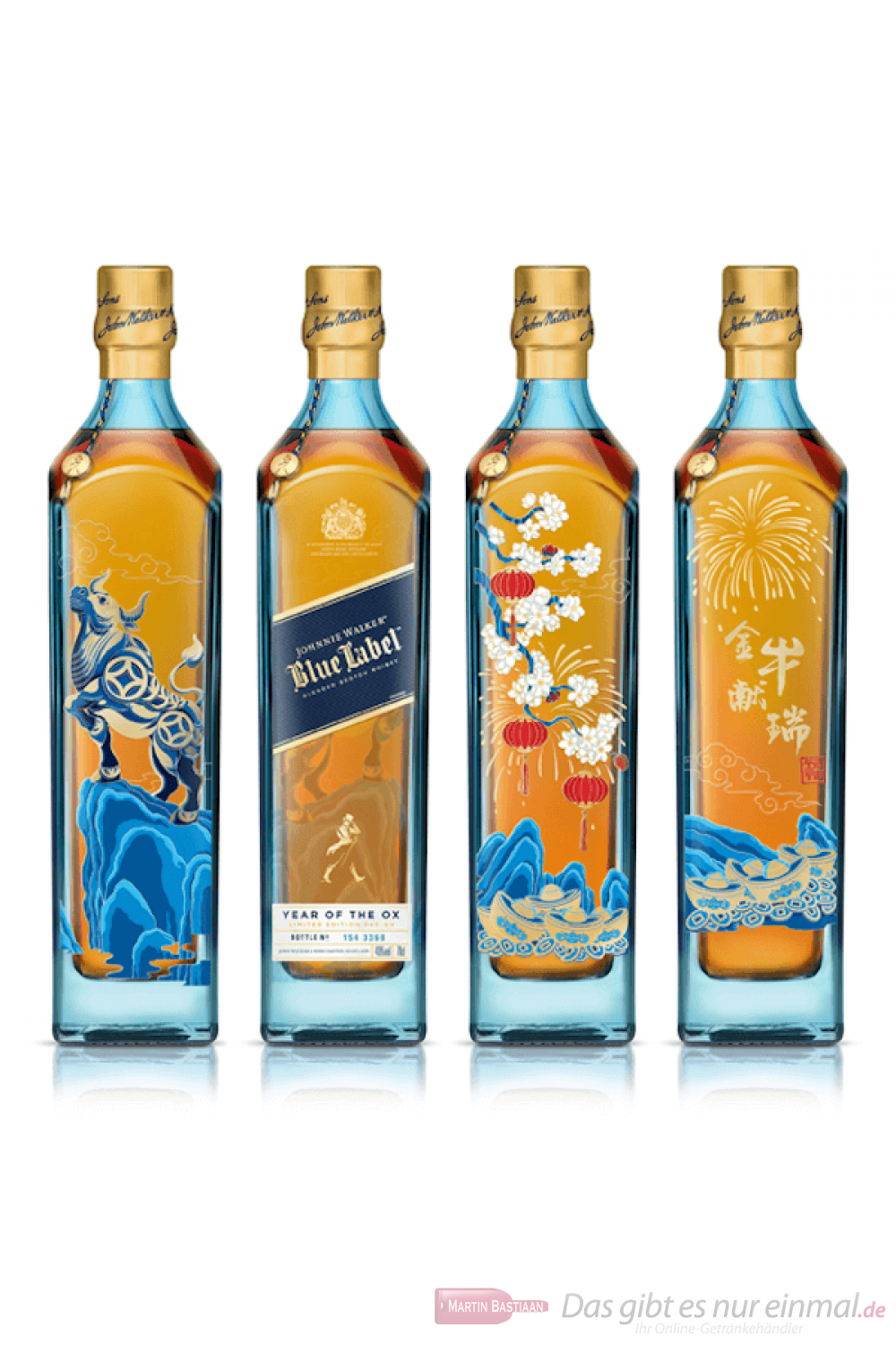 Johnnie Walker Blue Label Year of the Ox Edition Blended Scotch Whisky 0,7l
