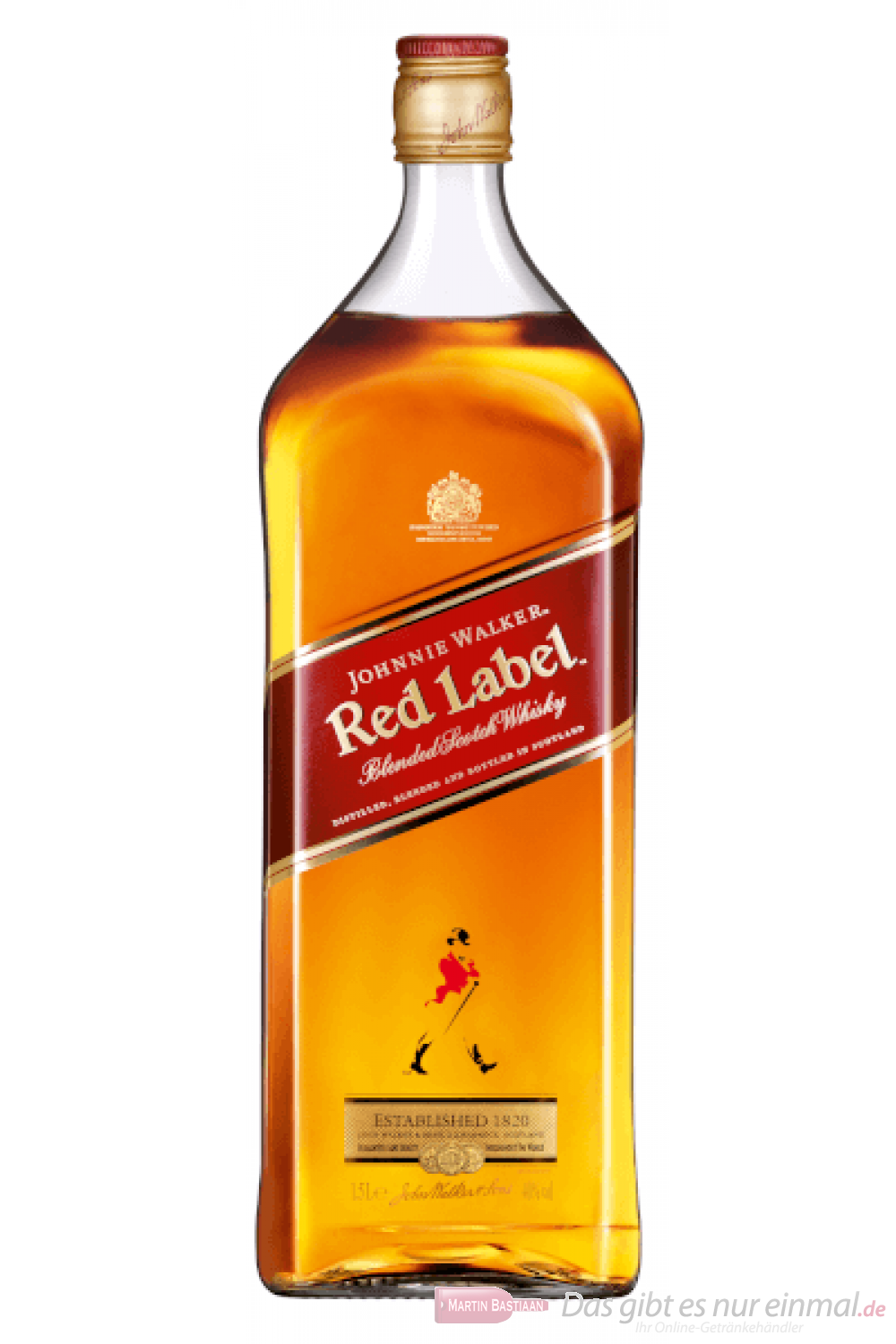 Johnnie Walker Red Label Blended Scotch Whisky 1,5l