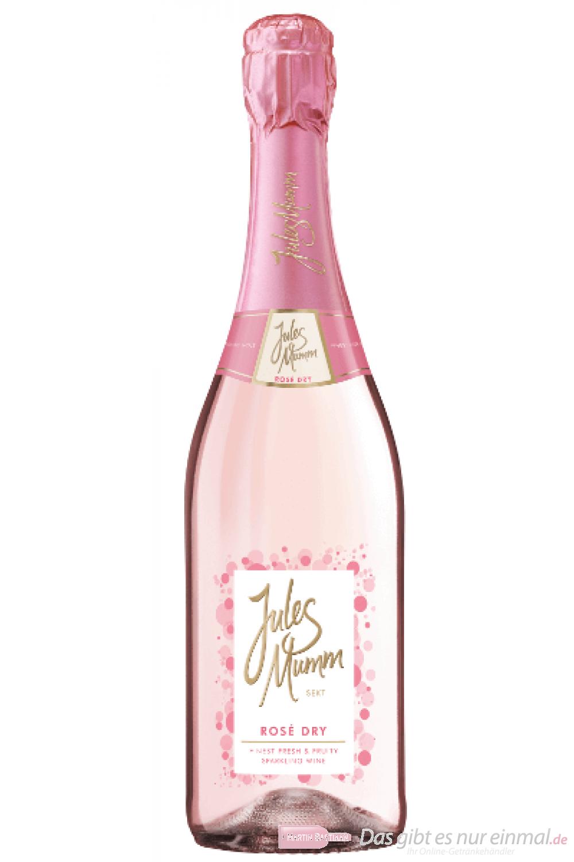 Jules Mumm Rosé Dry Sekt 6-0,75l