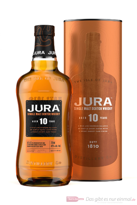 Isle of Jura 10 Years neue Ausstattung