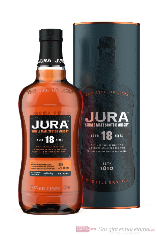 Isle of Jura 18 Years neue Ausstattung