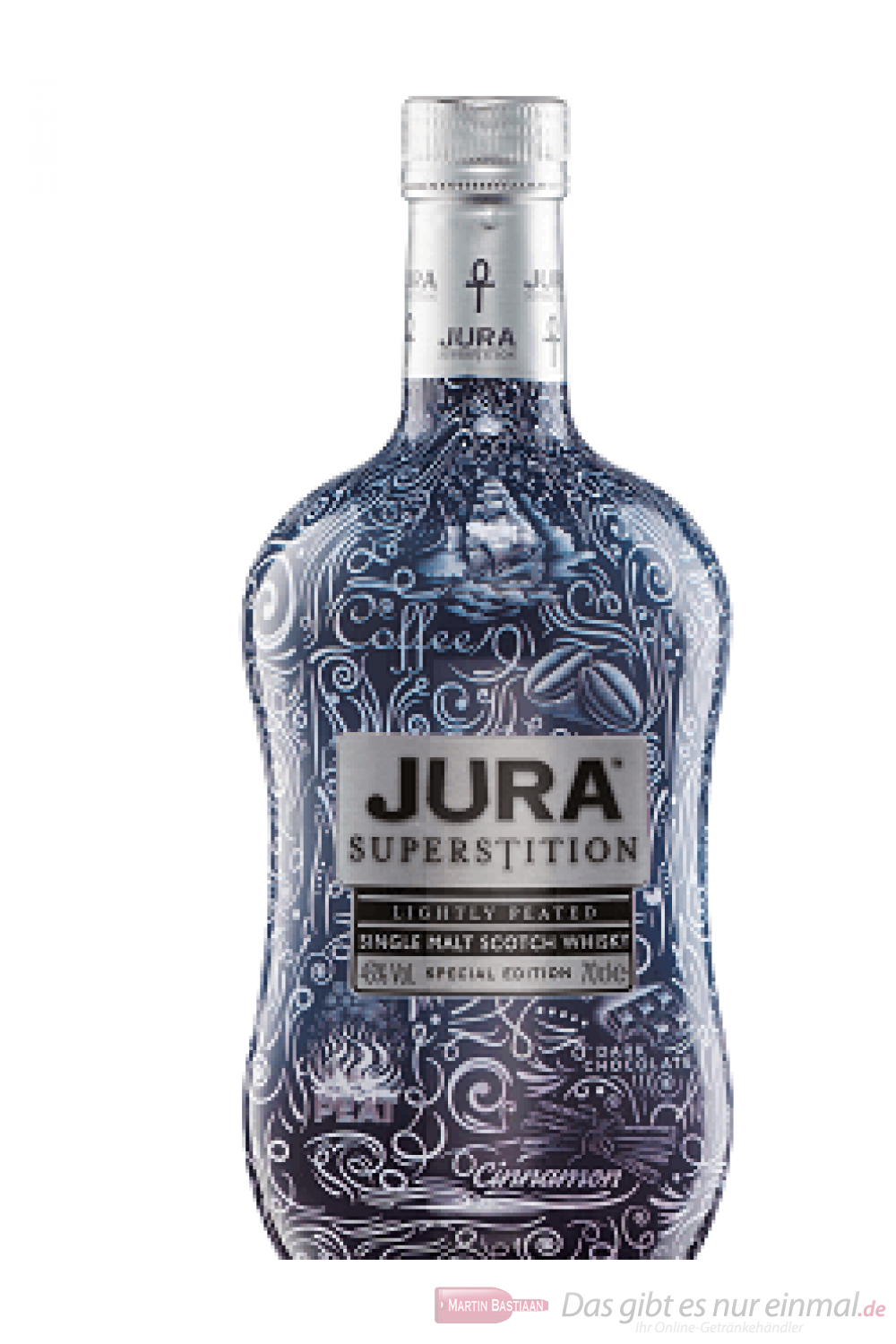 Isle of Jura Superstition Sleve Tattoo Limited Edition Scotch Whisky 0,7l