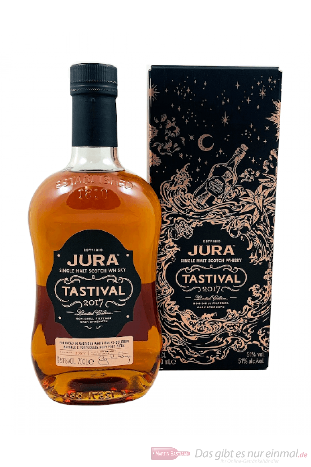 Isle of Jura Tastival Limited Editon 2017 Single Malt Scotch Whisky 0,7l