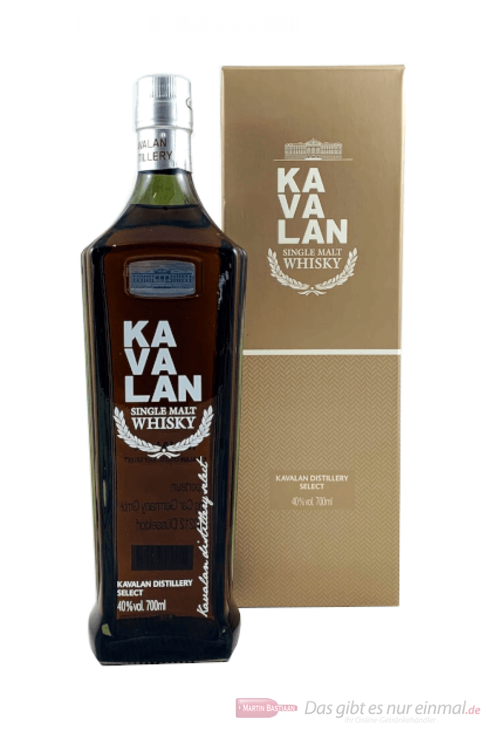 Kavalan Distillery Select Single Malt Whisky 0,7l