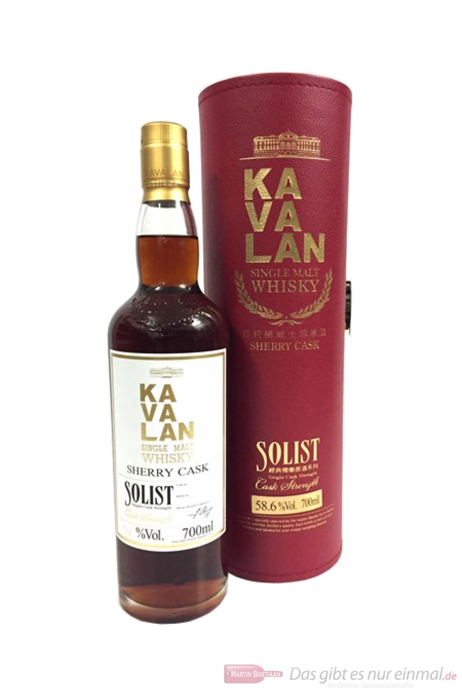 Kavalan Solist Sherry Cask Strength Whisky 58,6%