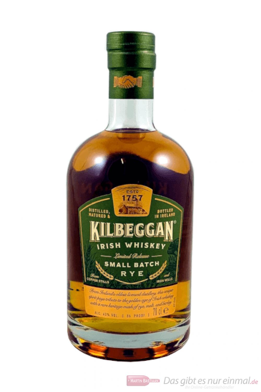 Kilbeggan Small Batch Rye Irish Whiskey 0,7l