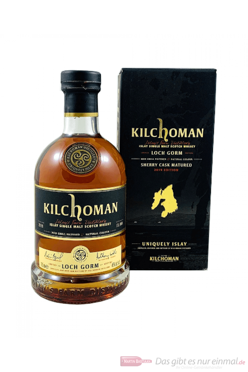 Kilchoman Loch Gorm Sherry Release 2019 Single Malt Scotch Whisky 0,7l
