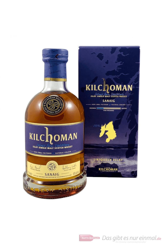 Kilchoman Sanaig Single Malt Scotch Whisky 0,7l