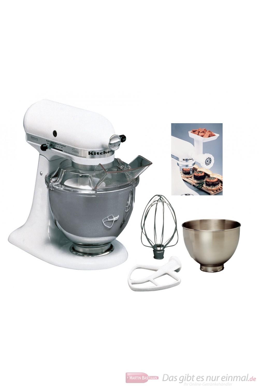 KitchenAid MASTER-PACKET 5K45SSEWH weiß Küchenmaschine