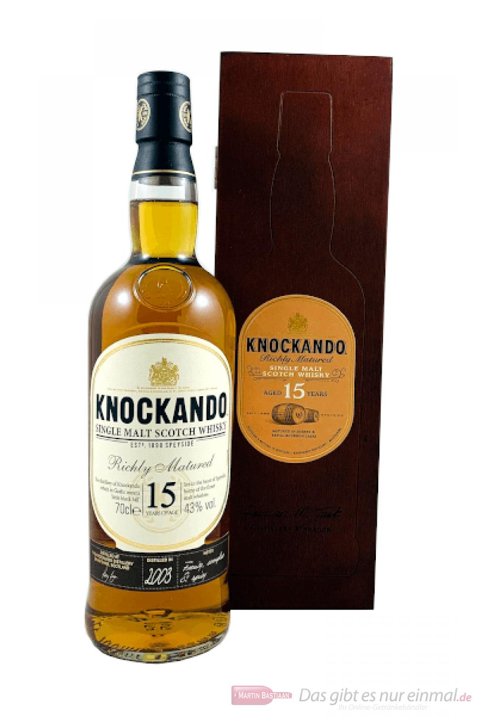 Knockando 15 Jahre Single Malt Scotch Whisky 0,7l