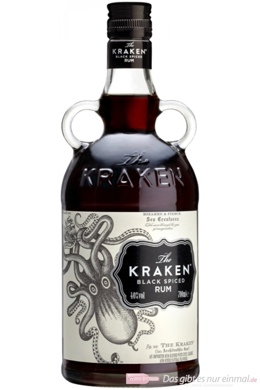 The Kracken Black Spiced