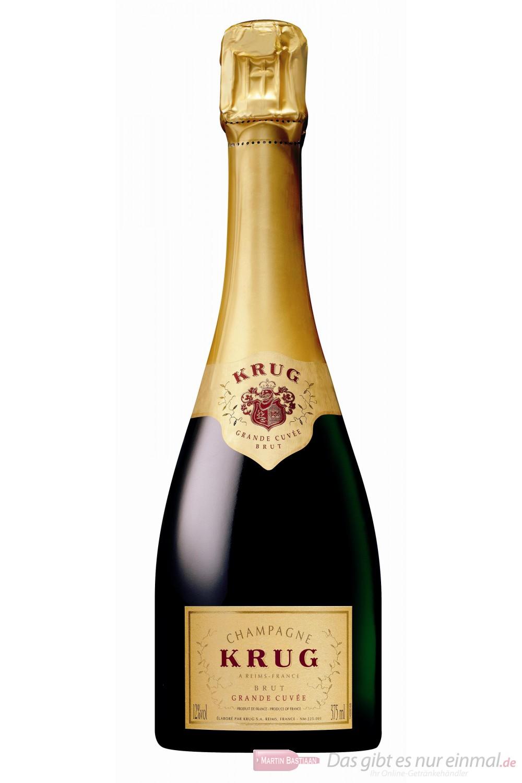Krug Champagner Grande Cuvée Brut 12% 0,375l Flasche