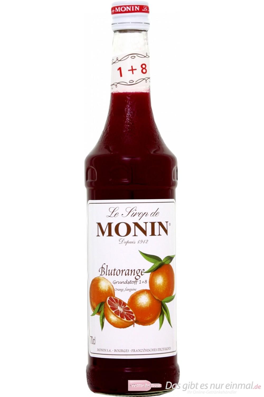 Le Sirop de Monin Blutorange Sirup 0,7l Flasche