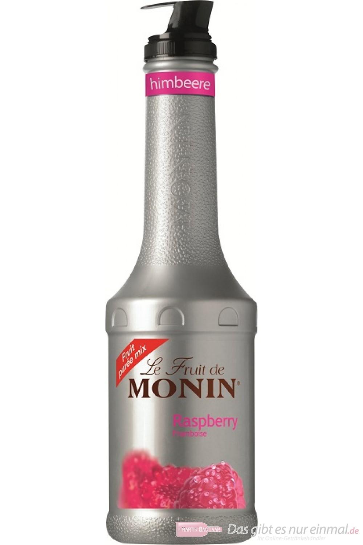 Le Sirop de Monin Fruchtpüree Himbeer 1,0l Flasche