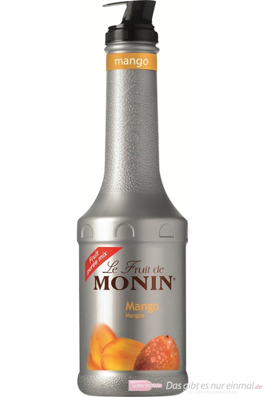 Le Sirop de Monin Fruchtpüree Mango 1,0l Flasche