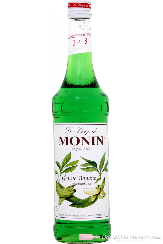 Le Sirop de Monin Grüne Banane Sirup 0,7l Flasche