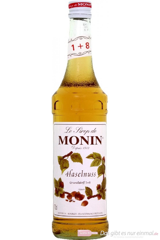 Le Sirop de Monin Haselnuss Sirup 1:8 0,7l Flasche