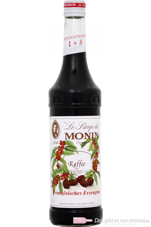 Le Sirop de Monin Kaffee Sirup Cafe 1:8 0,7l Flasche
