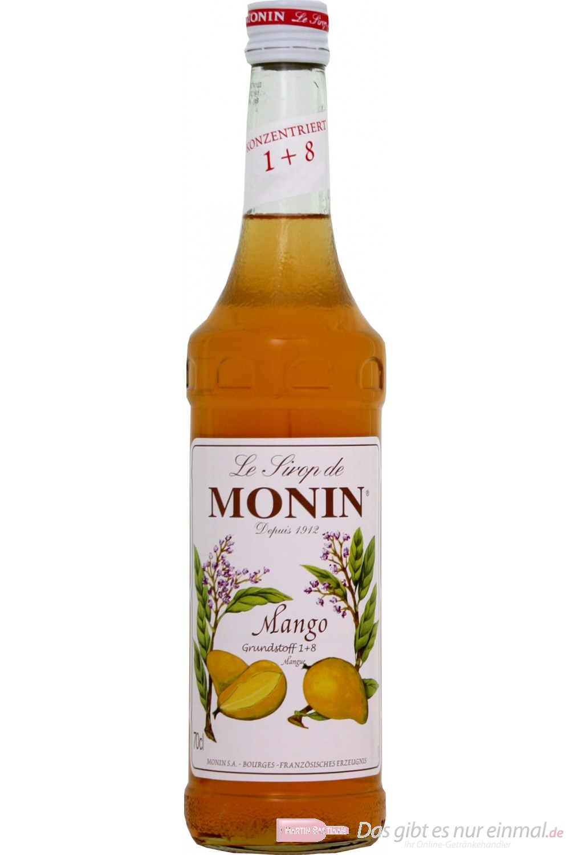 Le Sirop de Monin Mango Sirup 1l Flasche