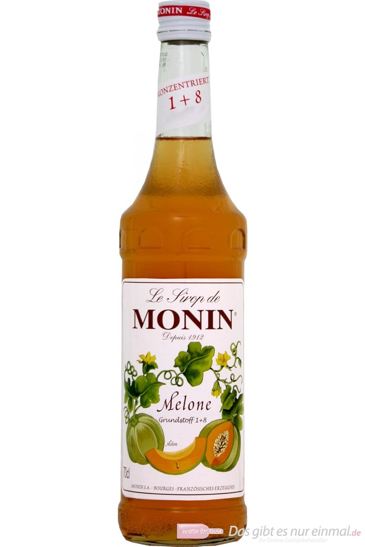Le Sirop de Monin Melonen Sirup 1:8 0,7 l Flasche