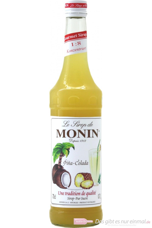 Le Sirop de Monin Pina Colada Sirup 0,7l Flasche