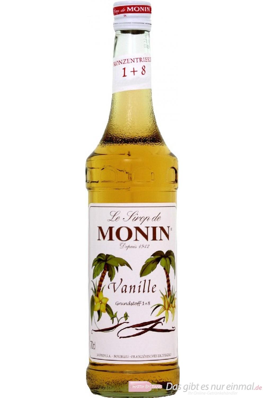 Le Sirop de Monin Vanille Sirup 1:8 0,7l Flasche