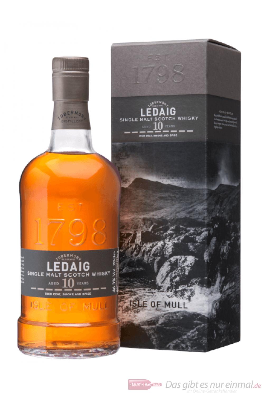 Ledaig 10 Jahre Island Single Malt Scotch Whisky 0,7l