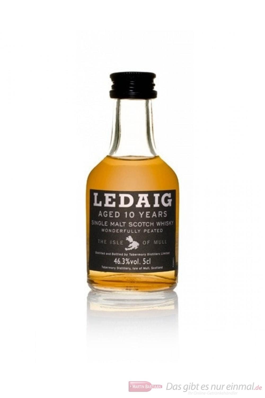 Ledaig 10 Jahre Island Single Malt Scotch Whisky 0,05l