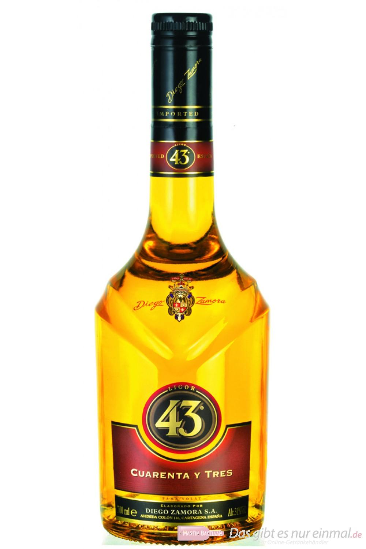 Licor 43 31% 0,7l Likör Flasche