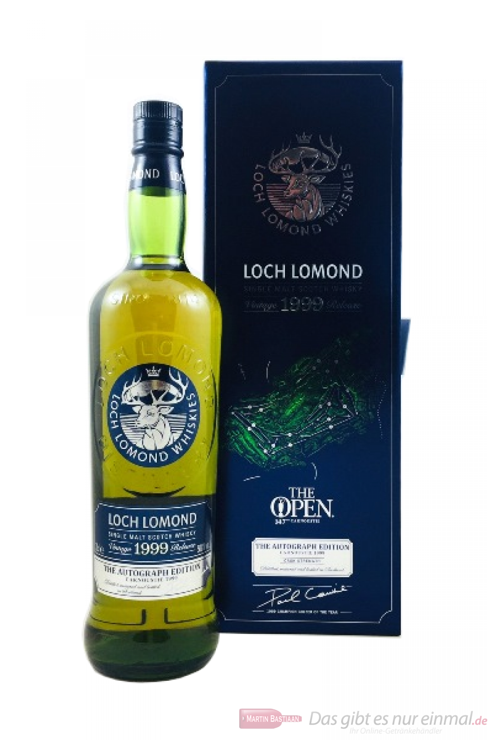 Loch Lomond The Open Course Collection Carnoustie 1999 Whisky 0,7l