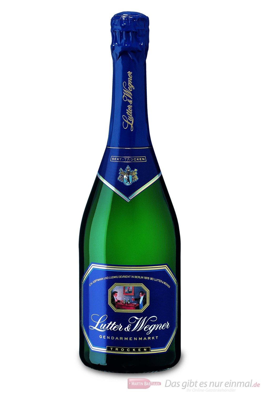 Lutter & Wegner Sekt Gendarmenmarkt trocken 11% 6 - 0,75l Flasche