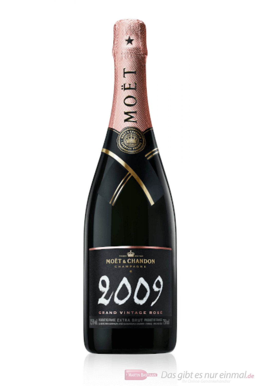 Moet & Chandon Champagner Grand Vintage Rosé 2009