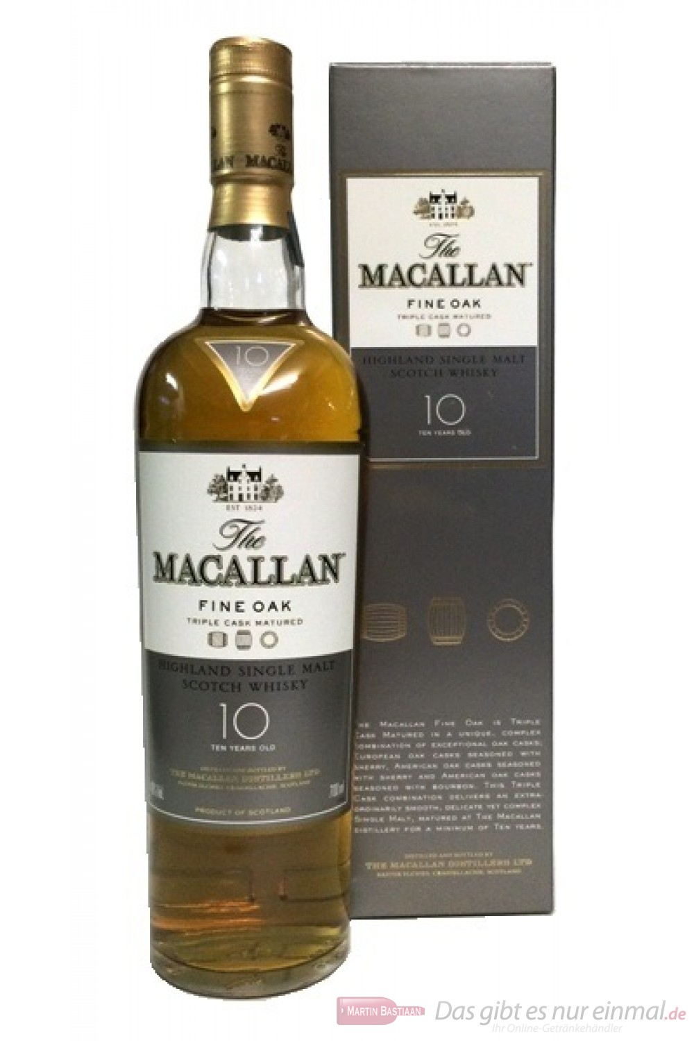 The Macallan Fine Oak 10 Years