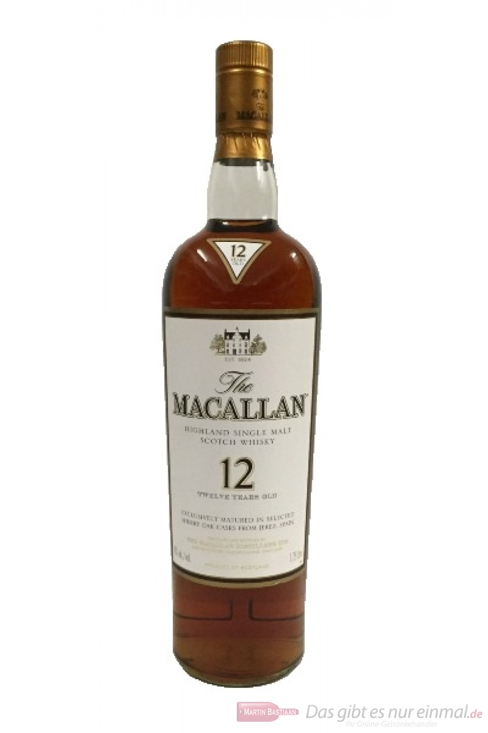 The Macallan Sherry Oak 12 years 1,75l